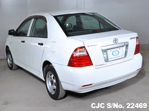 Back View of Toyota Corolla