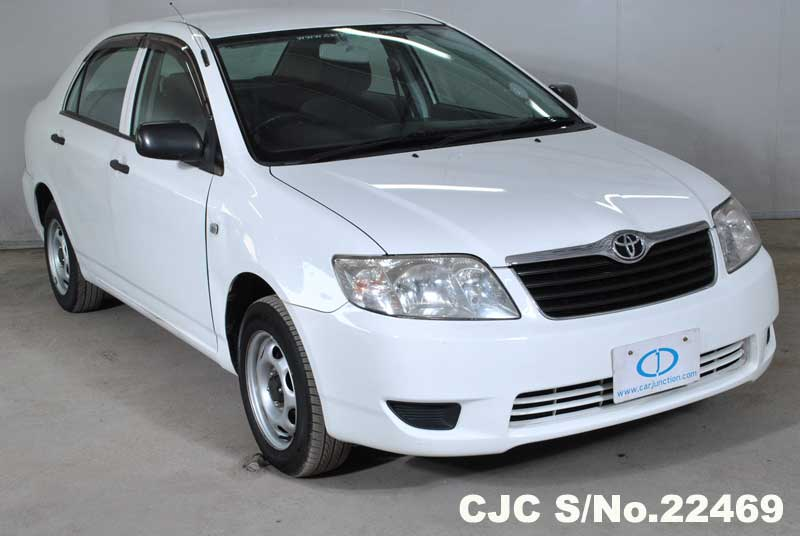 2005 Toyota Corolla White for sale  Stock No 22469  Japanese