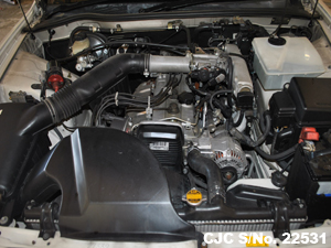 Japanese Used Toyota Mark II Chaser Engine View
