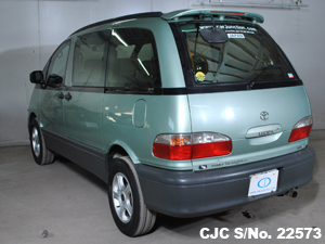 used 2006 Estima Lucida rear View