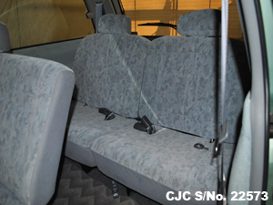 2006 Estima Lucida Rear Seating