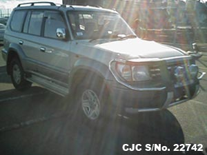 1997 Toyota / Land Cruiser Prado Stock No. 22742