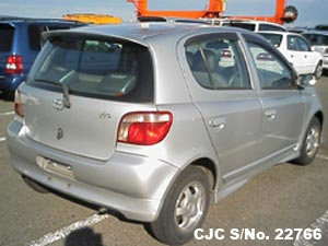 1999 Toyota / Vitz - Yaris Stock No. 22766