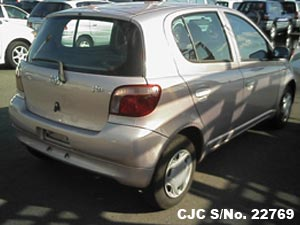 1999 Toyota / Vitz - Yaris Stock No. 22769