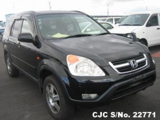 2002 honda crv black for sale stock no 22771 japanese used cars exporter. Black Bedroom Furniture Sets. Home Design Ideas