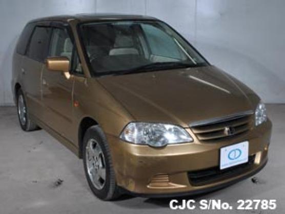 2001 Honda / Odyssey-Shuttle Stock No. 22785