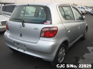 2001 Toyota / Vitz - Yaris Stock No. 22829