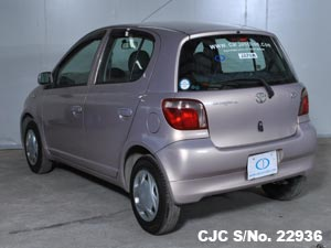 2001 Toyota / Vitz - Yaris Stock No. 22936