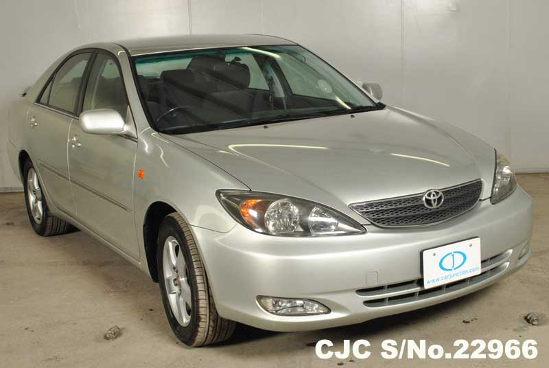 2002 toyota camry silver for sale stock no 22966 japanese used cars exporter. Black Bedroom Furniture Sets. Home Design Ideas