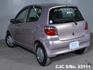 1999 Toyota / Vitz - Yaris Stock No. 23111