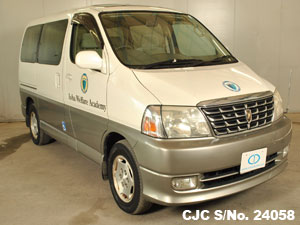 Japanese Used Hiace Front view