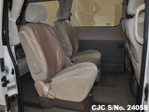 Interior view Used Toyota Hiace