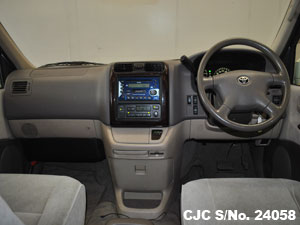 Toyota Hiace Steering View