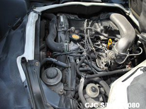 Toyota Hiace Engine View