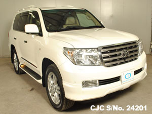 Toyota Land Cruiser in Pearl for sale