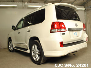 Pearl Land Cruiser Toyota car