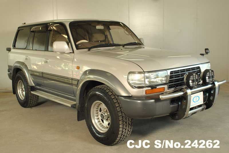 1997 toyota land cruiser pearl 2 tone for sale stock no 24262 japanese used cars exporter. Black Bedroom Furniture Sets. Home Design Ideas