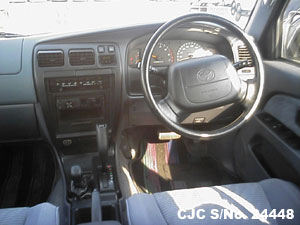 Japanese Used Toyota Hilux Surf 4Runner Steering view