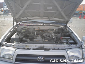 Japanese Used Toyota Hilux Surf 4Runner Engine View