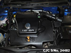 Volkswagen Golf Engine View