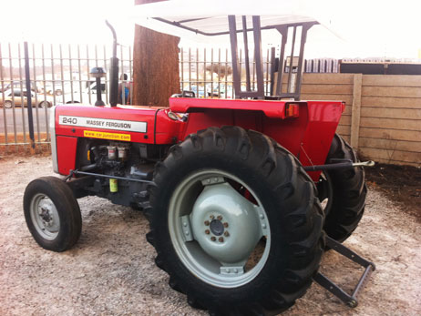 New Massey Ferguson Tractor in Botswana