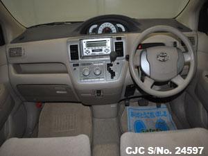 Toyota Raum Steering View