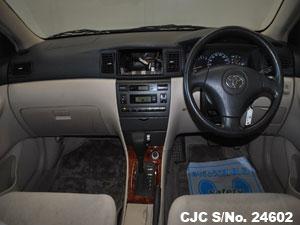 Toyota Corolla Runx Steering View