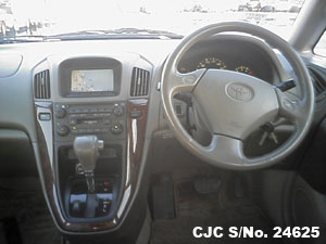 Japanese Used Toyota Harrier Steering view