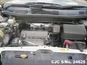 Japanese Used Toyota Harrier Engine View