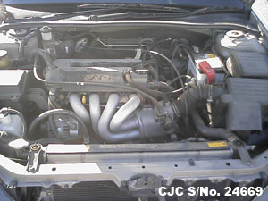 Japanese Used Toyota Vista Engine View