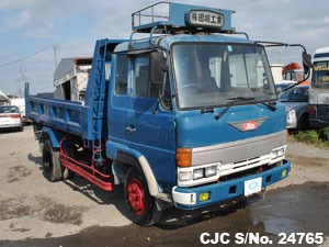 Used trucks in Japan