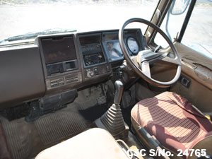 Steering View of Hino Ranger