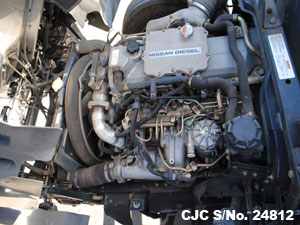Used Nissan UD Engine View