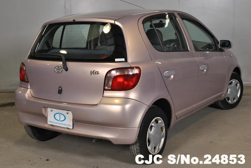 1999 Toyota Vitz Yaris Pink For Sale Stock No 24853