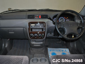 Japanese Used Honda CRV Steering view