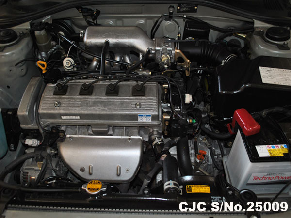 Engine View of Toyota Carina