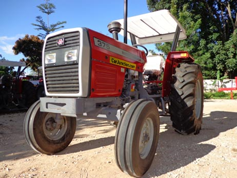 Front view of Massey Ferguson