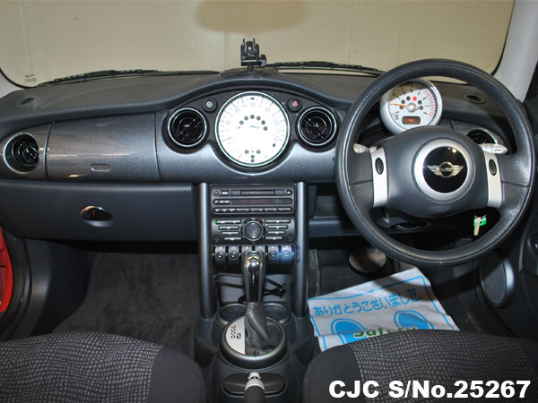 Mini Cooper Steering View