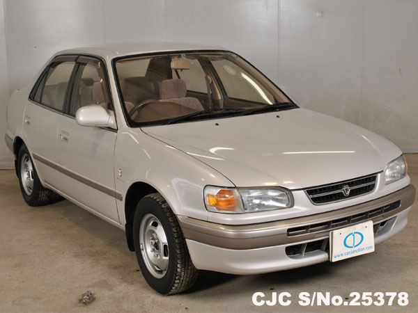 1997 toyota corolla pearl for sale stock no 25378 japanese used cars exporter. Black Bedroom Furniture Sets. Home Design Ideas