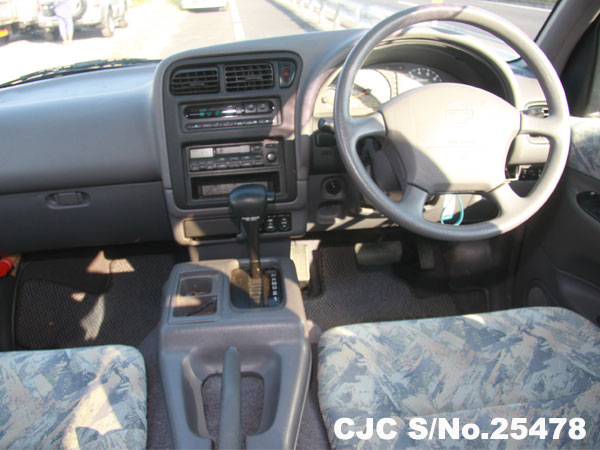 Steering View of Nissan Serena