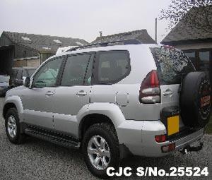 2004 Toyota / Land Cruiser Prado Stock No. 25524