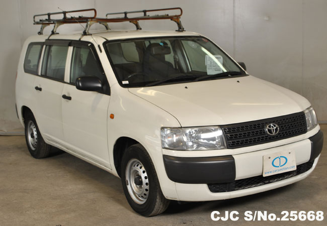 2008 Toyota Probox White For Sale Stock No 25668 Japanese Used