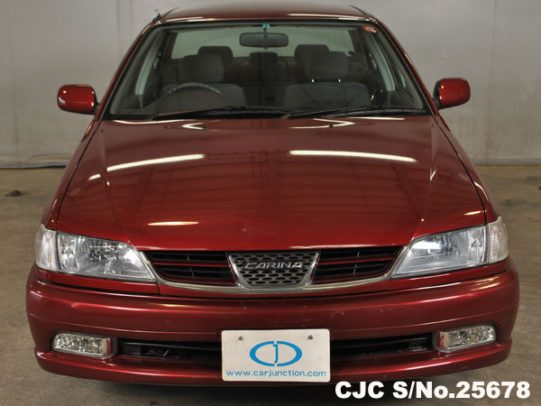 Front View Toyota Carina