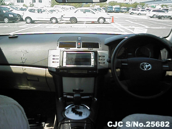 Steering view of Toyota mark X