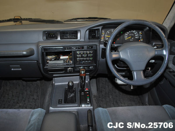 Steering view of Toyota Land Cruiser
