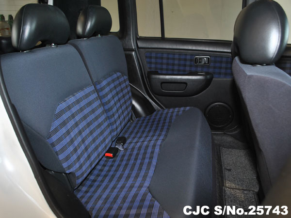2006 Cube Rear Seating