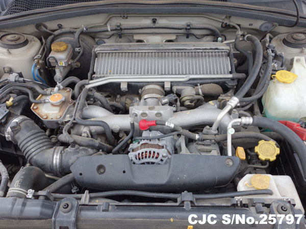 Japanese Used Subaru Forester Engine View