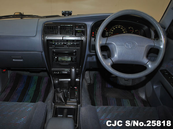 Steering view of Toyota Hilux Surf 4Runner