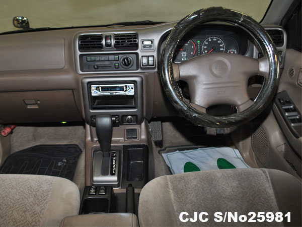 Steering view of Isuzu Wizard