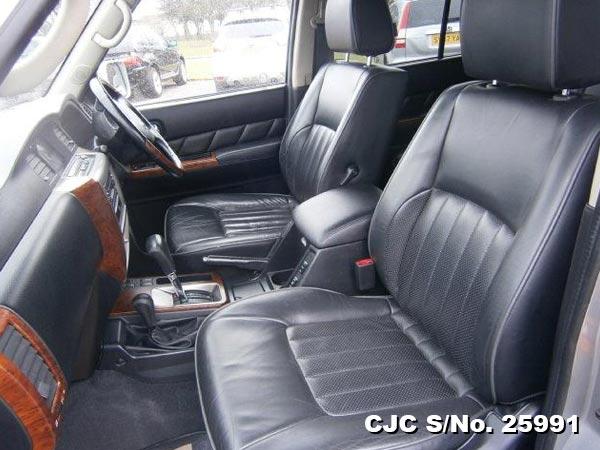 Nissan Patrol Steering View